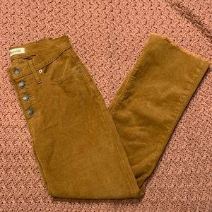 Madewell Corduroy Ankle-Flare Pant